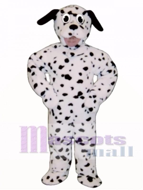 Cute Dalmation Dog Mascot Costume