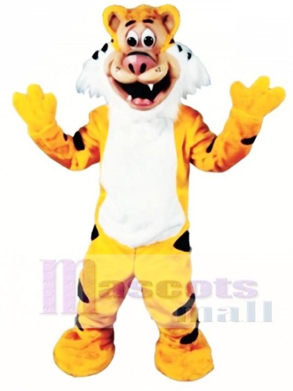 Cute Teeger Tiger Mascot Costume