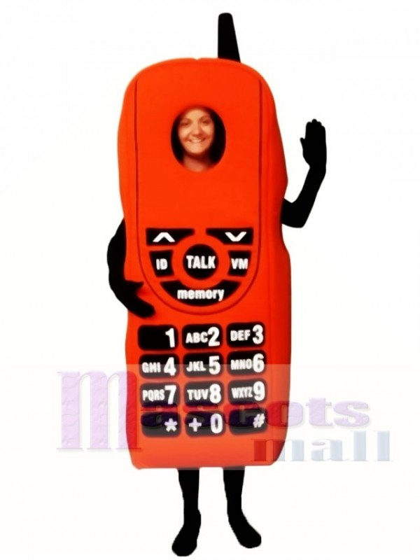 New Cell Phone Mascot Costume
