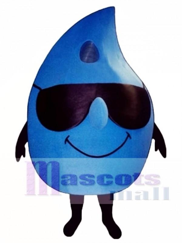 Drip with Shades Mascot Costume