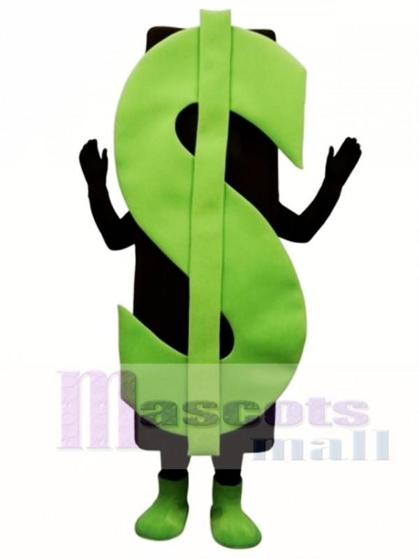 Dollar Sign Mascot Costume