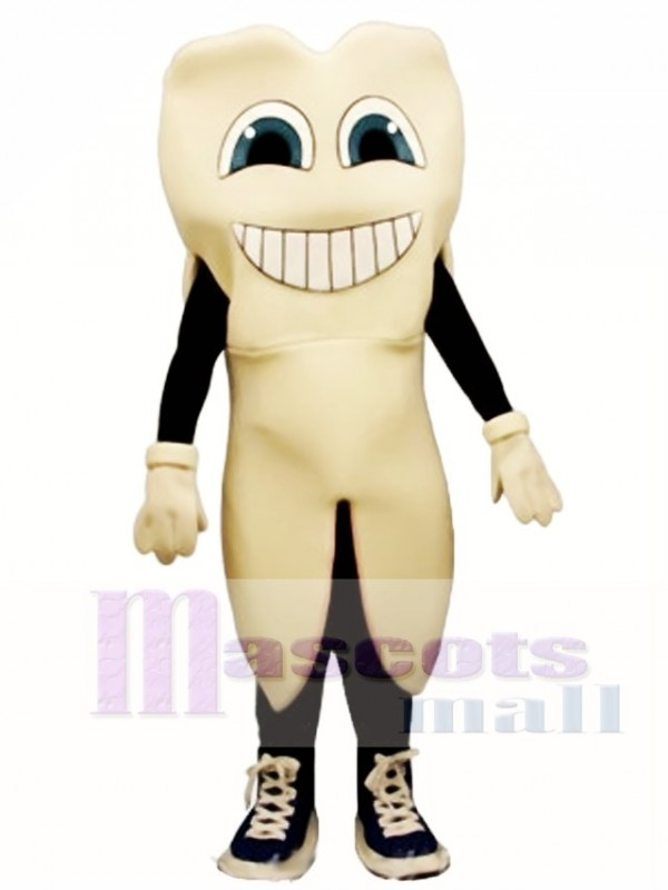 Toothie Tooth Mascot Costume