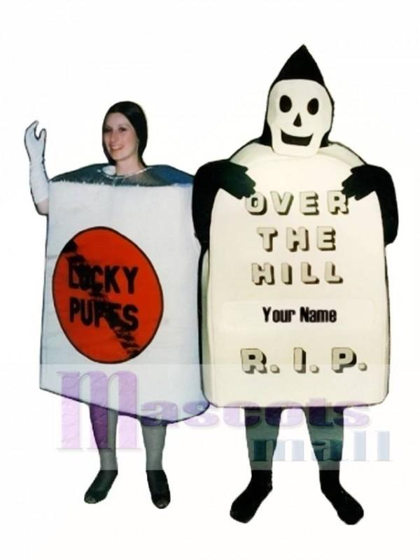 No Smoke Cigarettes Mascot Costume