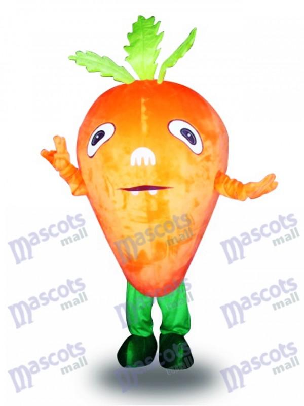 Orange Carrot Vegetable Mascot Costume Food Vegetable
