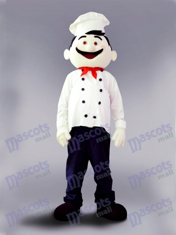 Restaurant Food Promotion Chef Cook Mascot Costume