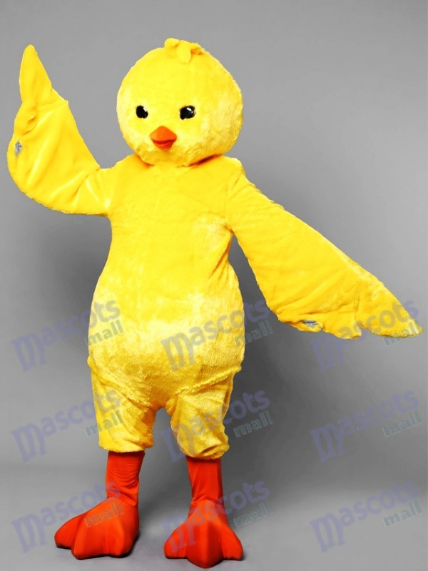 Fantasy Yellow Chicken Mascot Costume