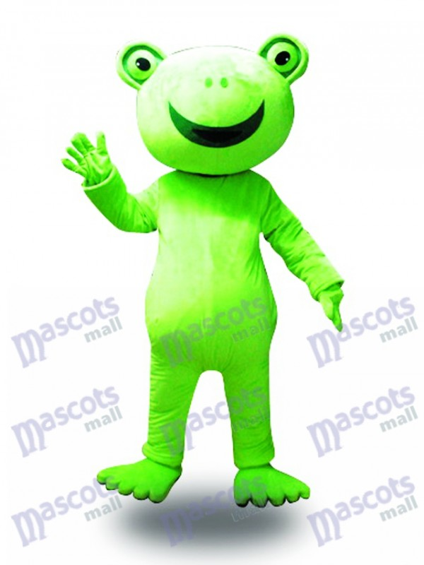Big Smile Frog Mascot Costume Animal