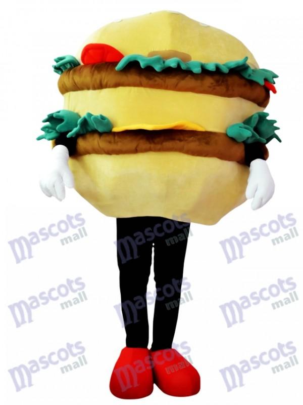 Hamburger with Cheese Mascot Costume