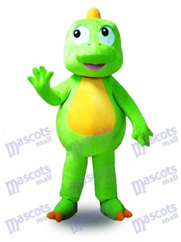 Green Dragon Mascot Costume Animal