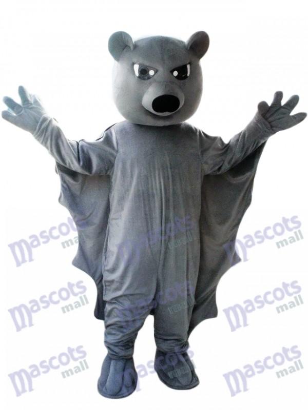 Black Bat Mascot Costume Animal