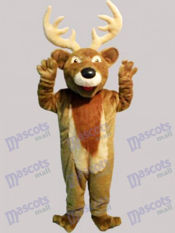 Christmas Elk Deer Mascot Costume Animal