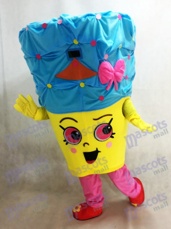 Shopkins Cupcake Queen Girls Mascot Costume