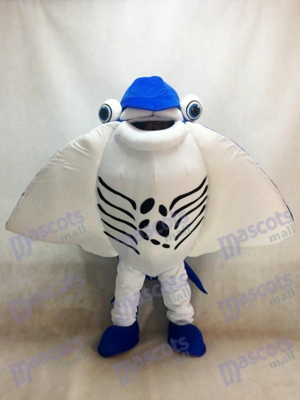 Manta Ray Devil Rays Mascot Costume Ocean