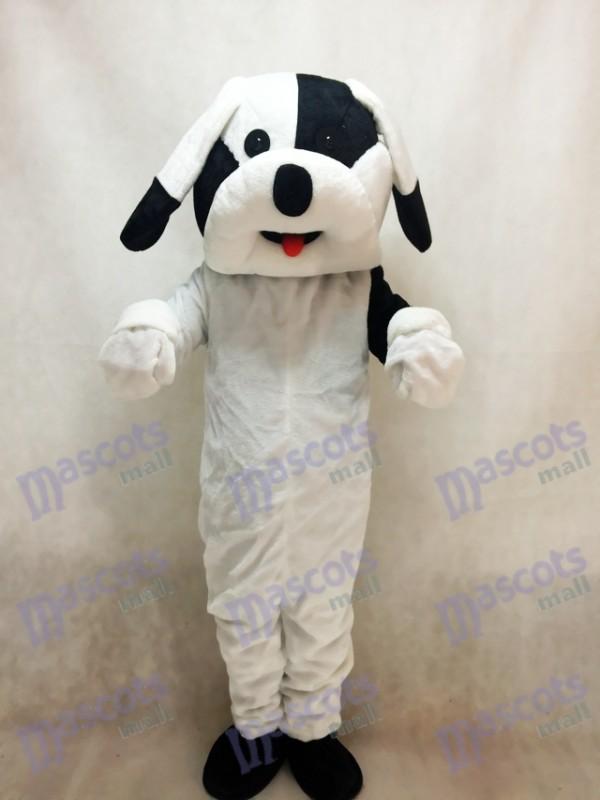 Black and White Dog Mascot Adult Costume Animal