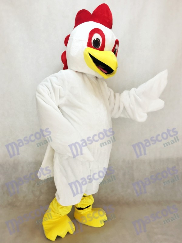 White Chick Chicken Mascot Costume Animal