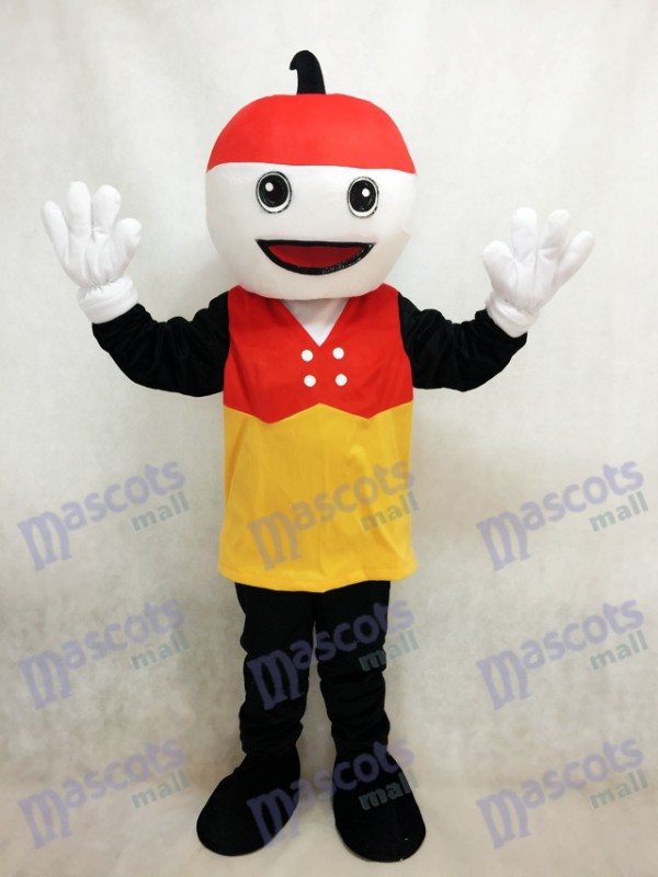 Sparky Mascot Costume with the Red Hat