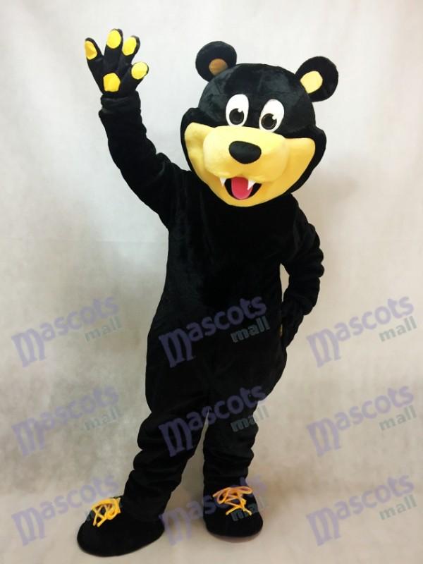 Brown Estevan Bruins Bear Custom Ice Hockey Mascot Costume