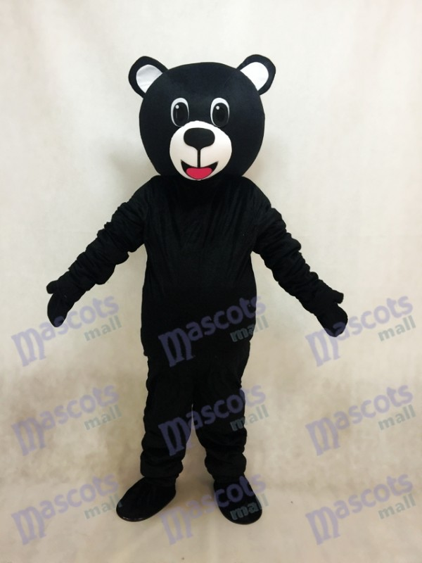 Black Lucky Bear Mascot Costume