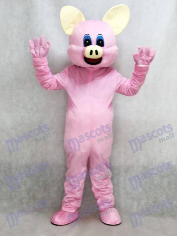 Pink Pig Mascot Adult Costume Animal