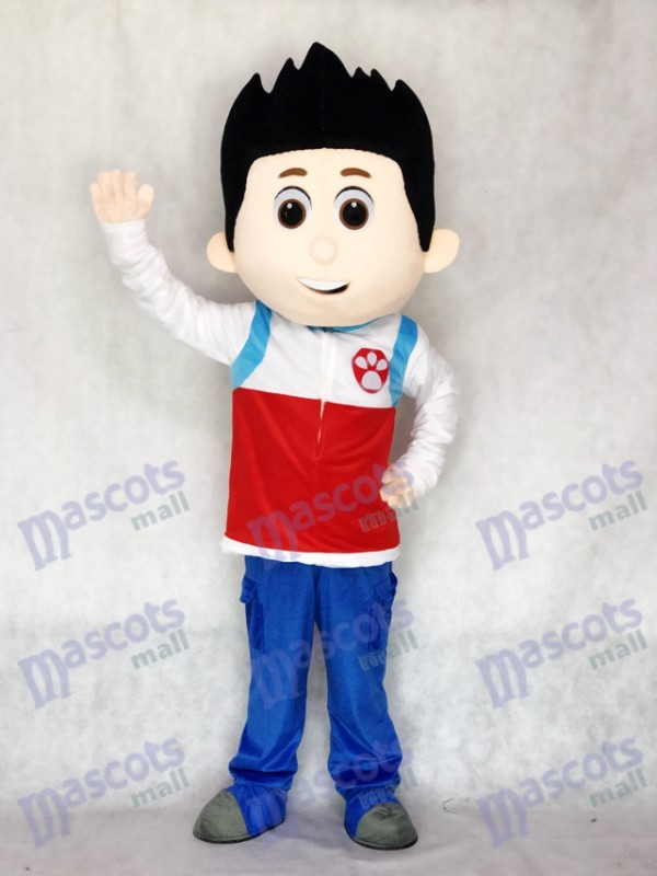Paw Patrol Ryder Mascot Costume Cosplay Cartoon Mascot Costume TYPE B