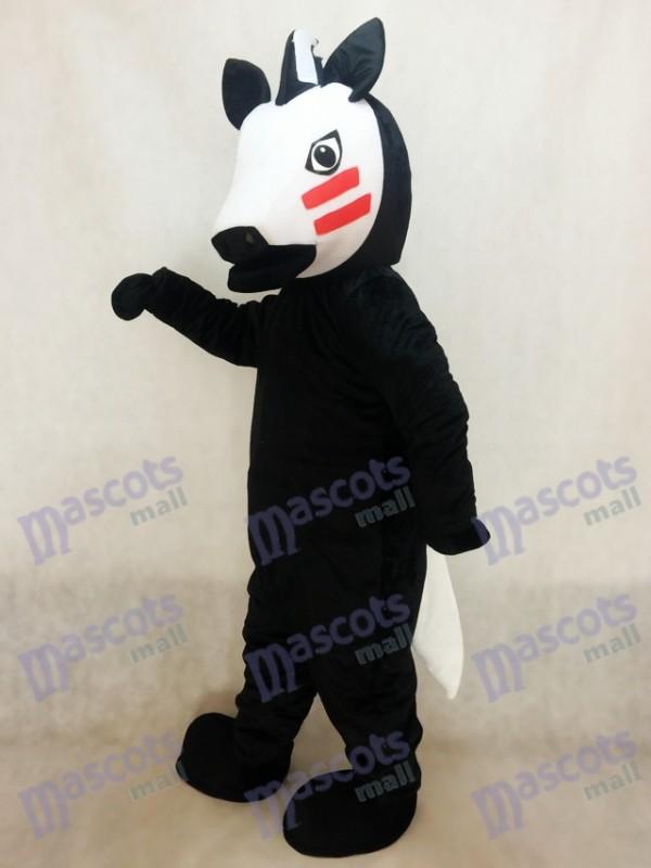 Black Trojan Horse Mascot Costume
