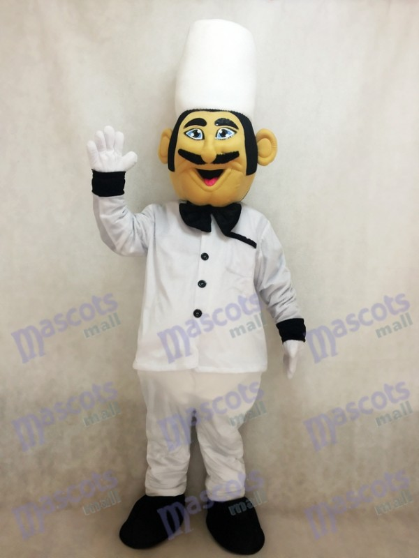 Restaurant Promotion Italian Chef Cook Mascot Costume
