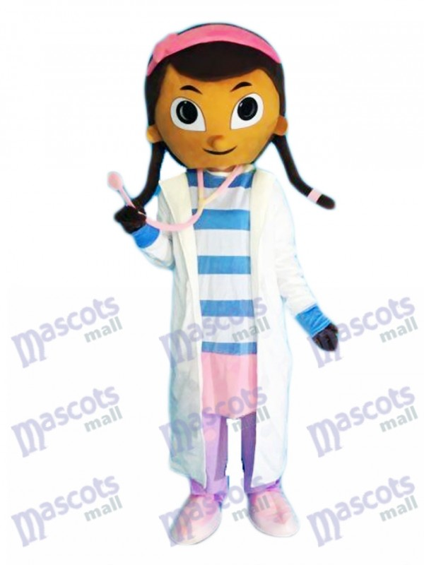 Doc McStuffins Doctor Dottie Mascot Costume Cartoon