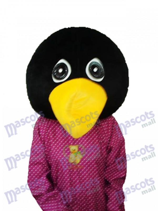 Crying Penguin Head Mascot Adult Costume