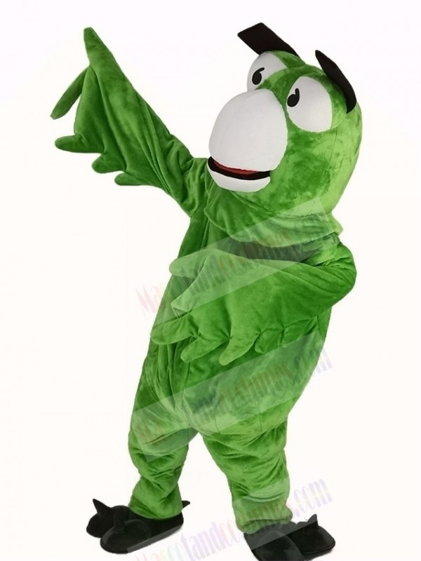 Green Parrot Bird Mascot Costume Animal