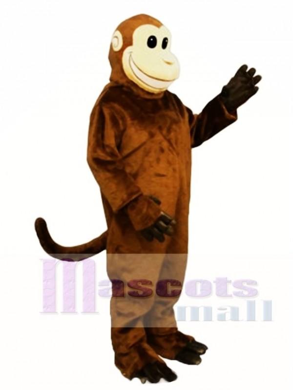 Smiling Monkey Mascot Costume
