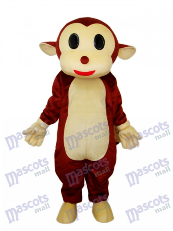 Mr.Jump Monkey Mascot Adult Costume