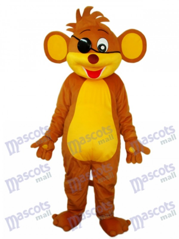 Pirate Monkey Mascot Adult Costume