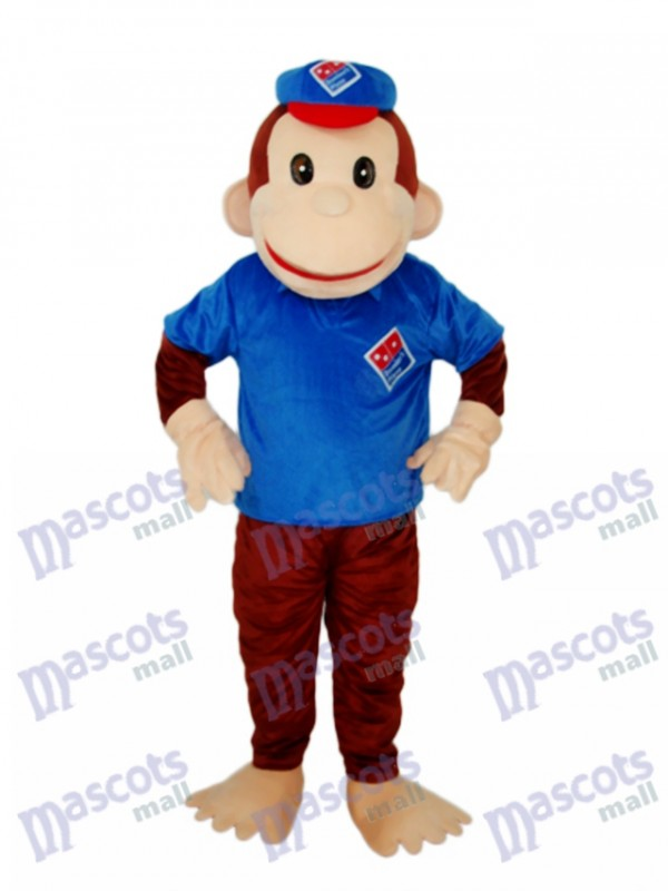 Lucky Monkey Mascot Adult Costume