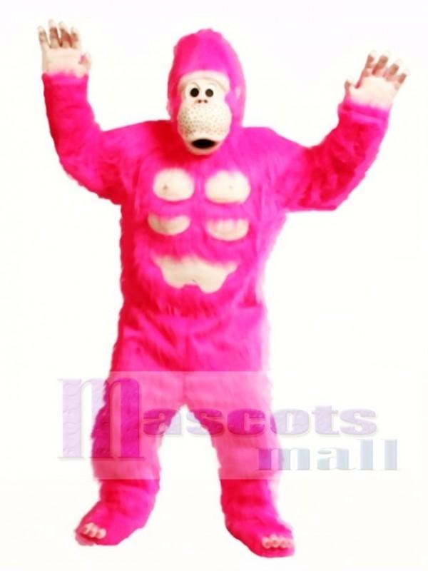 Cute Comic Gorilla Mascot Costume