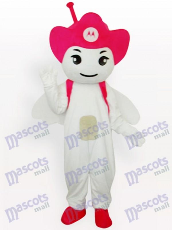 Rose Moto Angel Party Adult Mascot Costume