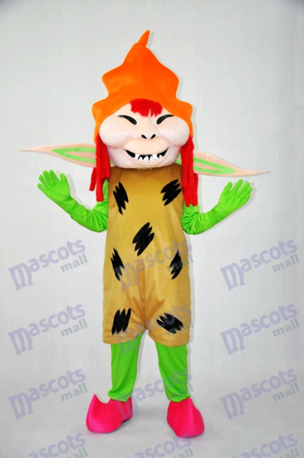 Scary Monster Plush adult Mascot Costumes