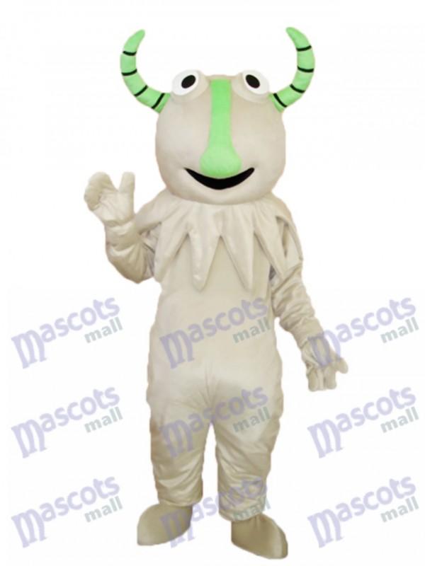 Gray Monster Mascot Adult Costume