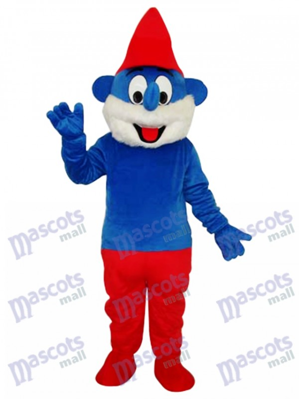 Furry Smurfs Mascot Adult Costume