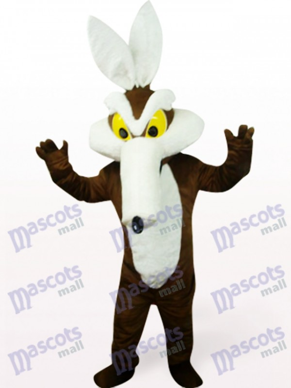 Monster In Brown Clothes Party Mascot Costume