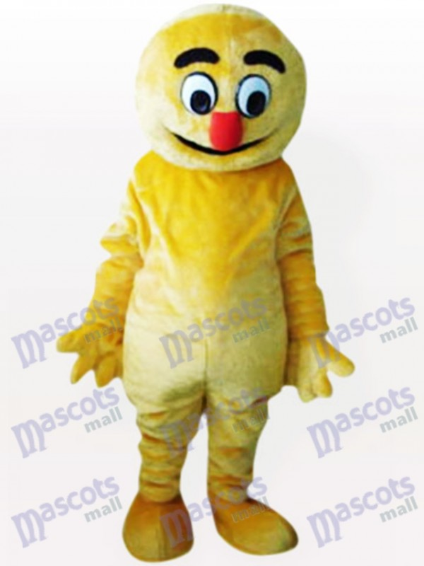 Yellow Boogie Man Party Adult Mascot Costume
