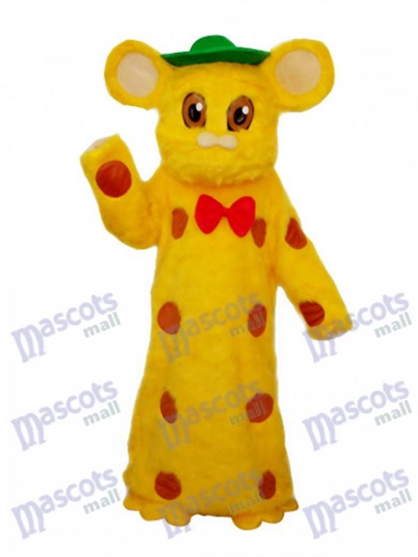 Kuhn Mouse Plush Mascot Adult Costume