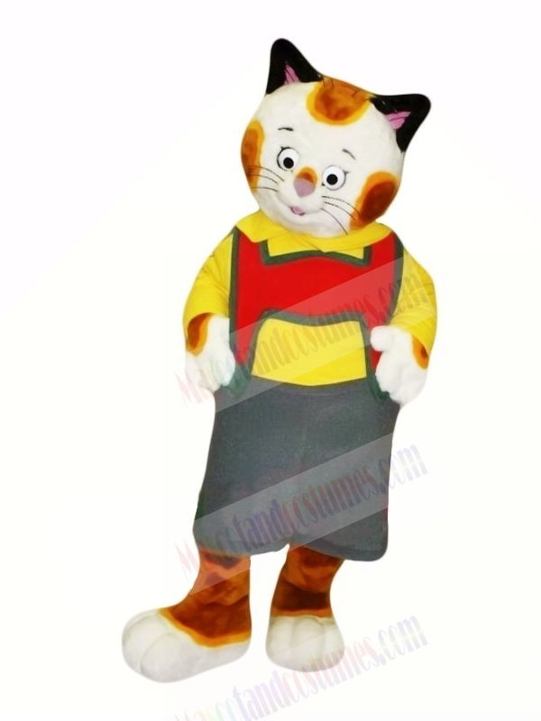 Cute Pattern Cat Mascot Costumes Cartoon