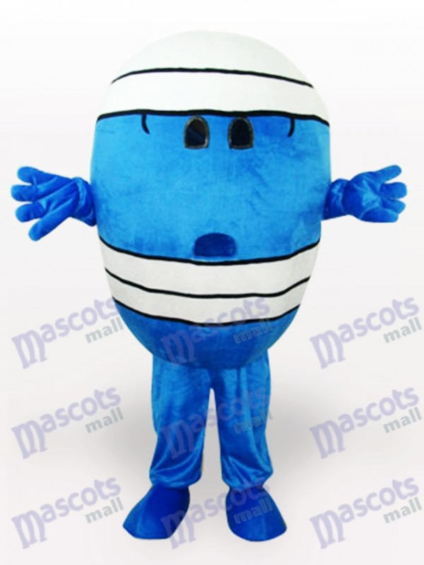 Mr Wrestling Cartoon Mascot Costume