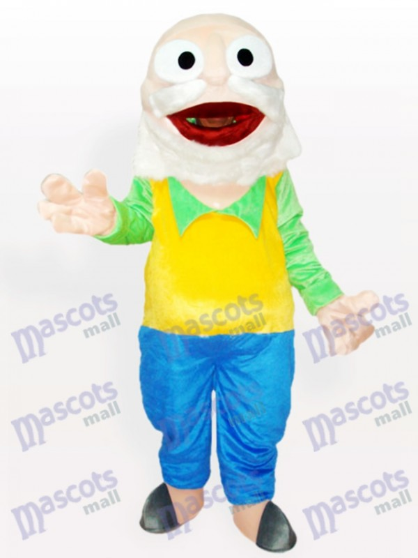 Doctor Du Cartoon Adult Mascot Costume