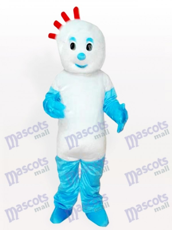 Floppy Boy Cartoon Adult Mascot Costume