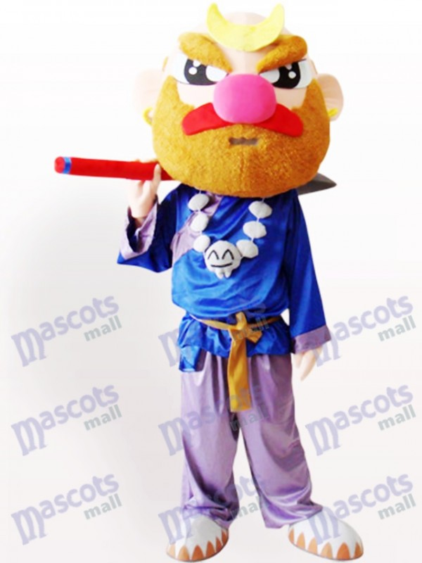 Sha Monk Cartoon Adult Mascot Costume