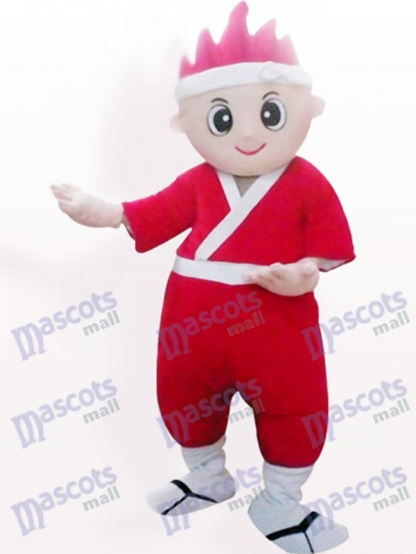 Japanese Boy Cartoon Adult Mascot Costume