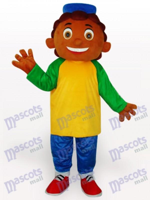 Pinaple Boy Cartoon Adult Mascot Costume