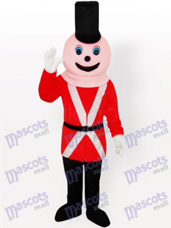Royal Soldier Adult Mascot Costume