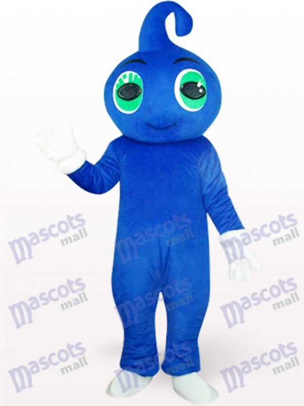 Cute Blue Baby Mascot Costume